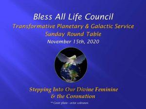 Nov 15 2020 Bless All Life Video front slide
