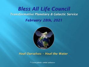 Feb 28th 2021 Heal Ourselves Health the Water