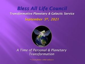 Sept 5th 2021 Bless All Life Council RT
