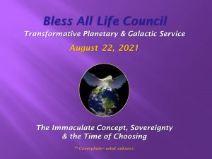 August 22nd Bless All Life Council Video